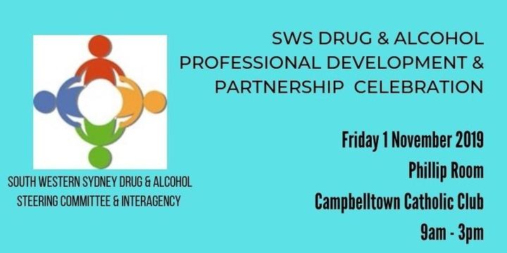 South Western Sydney Drug & Alcohol Professional Development & Partnership Celebration Event Banner
