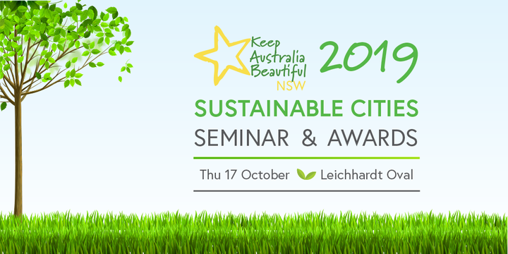 KAB NSW Sustainable Cities Awards 2019 Event Banner