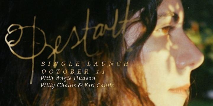 Indira Elias - Restart Single Launch Event Banner