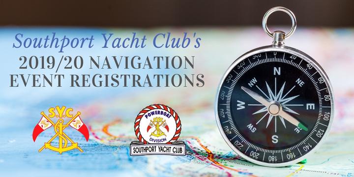 Southport Yacht Club - Navigation Event Registration Event Banner