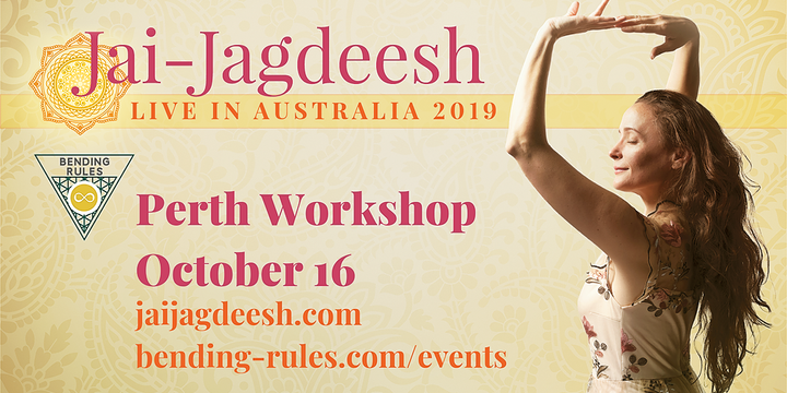 Jai-Jagdeesh Workshop (Perth, Western Australia) Event Banner