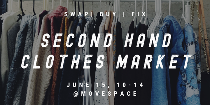 MoveSpace Clothes Market Event Banner