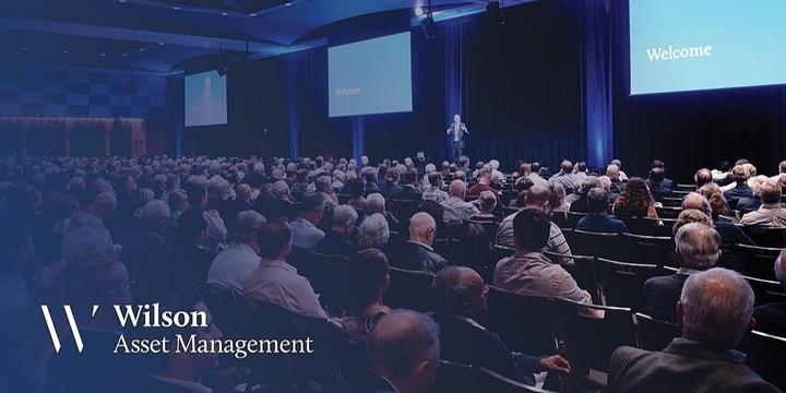 Wilson Asset Management Shareholder Presentation Sydney Event Banner