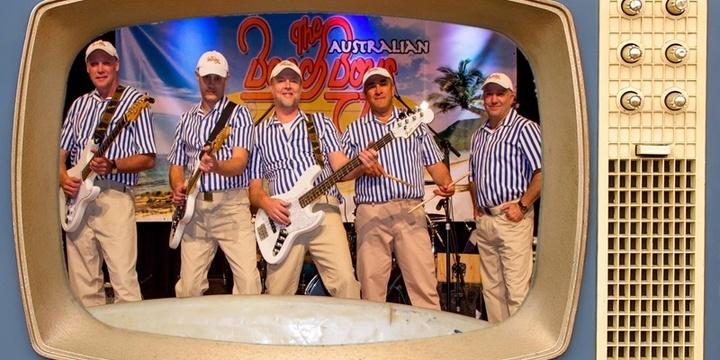 The Australian Beach Boys Show Event Banner