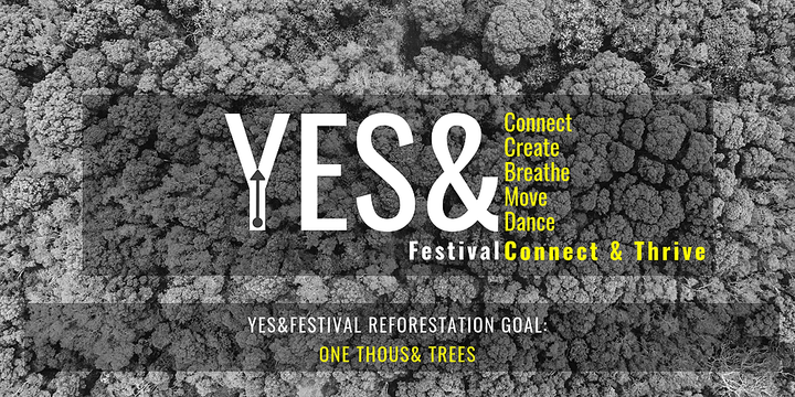 YES& Festival: Connect & Thrive Event Banner