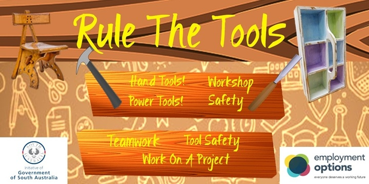 Rule The Tools Event Banner