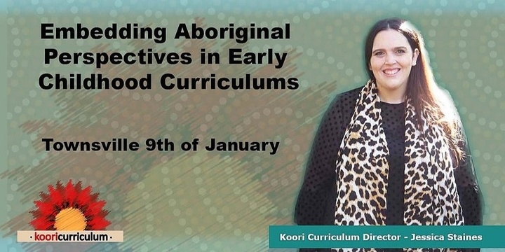 Townsville- Embedding Aboriginal Perspectives in ECE Event Banner