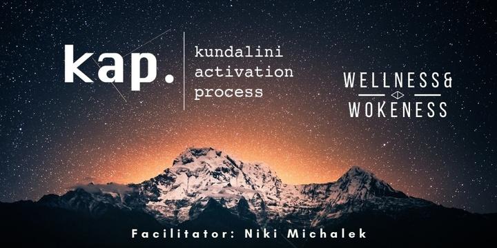 KAP - Kundalini Activation Process | Surry Hills Event Banner