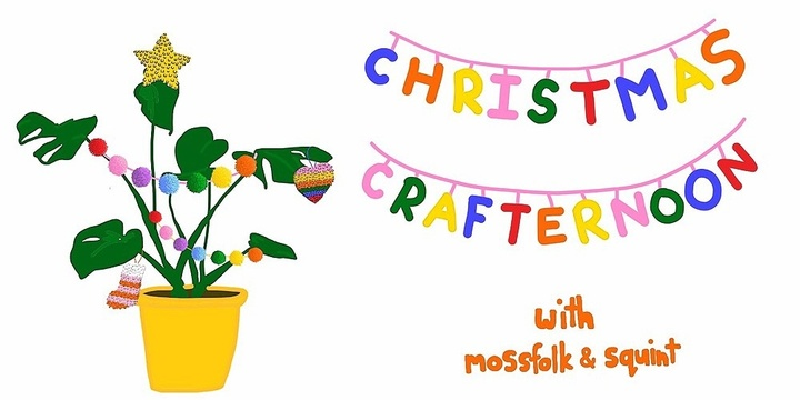 Christmas Crafternoon Event Banner