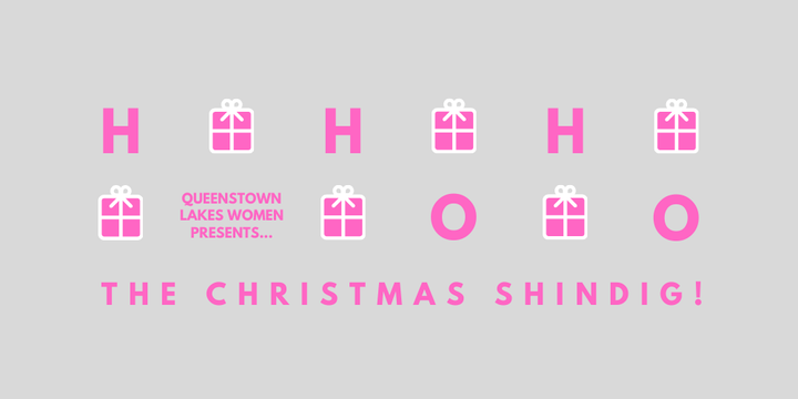 Queenstown Lakes Women CHRISTMAS SHINDIG Event Banner