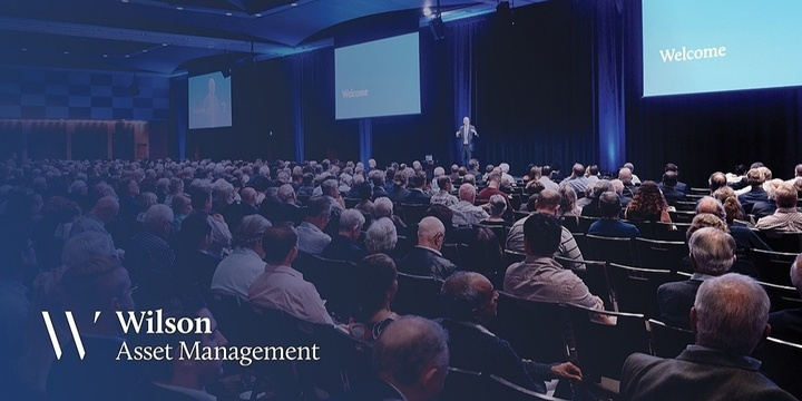 Wilson Asset Management Shareholder Presentation Melbourne Event Banner