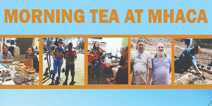Morning Tea at MHACA Event Banner