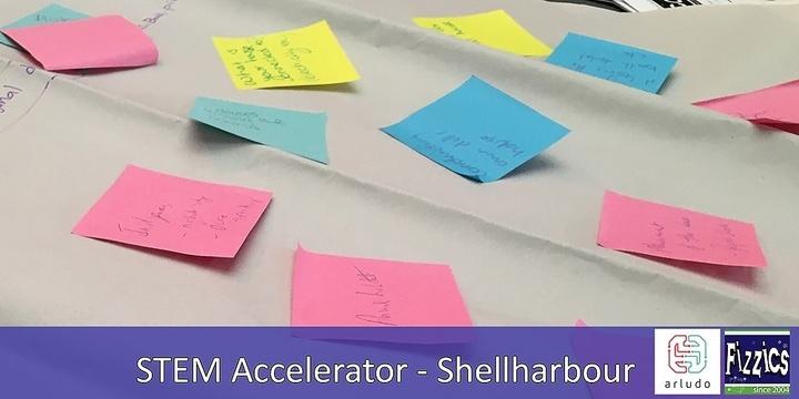 STEM Accelerator Shellharbour December 12 Event Banner