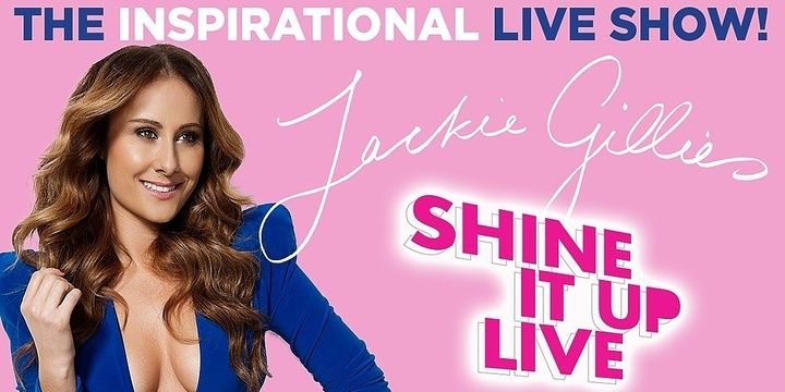 SHINE IT UP LIVE - Brisbane Event Banner