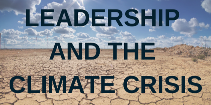 Good Business Leadership and the Climate Crisis Event Banner