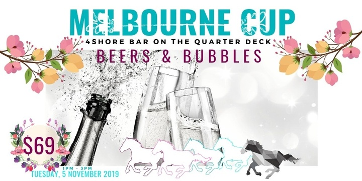 Melbourne Cup - Beers & Bubbles Event Banner