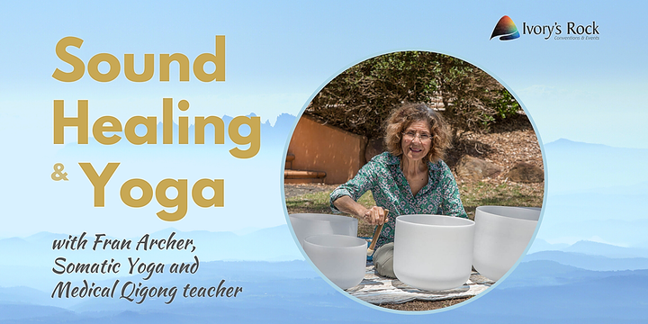 Sound Healing and Yoga Event Banner