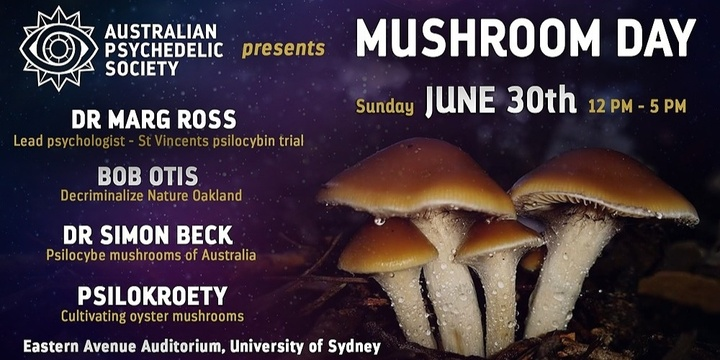 MUSHROOM DAY with APS-Sydney Event Banner