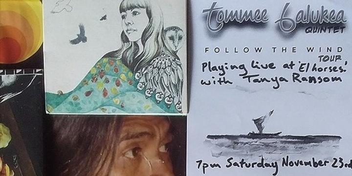 Tommee Balukea Quintet & Tanya Ransom Event Banner