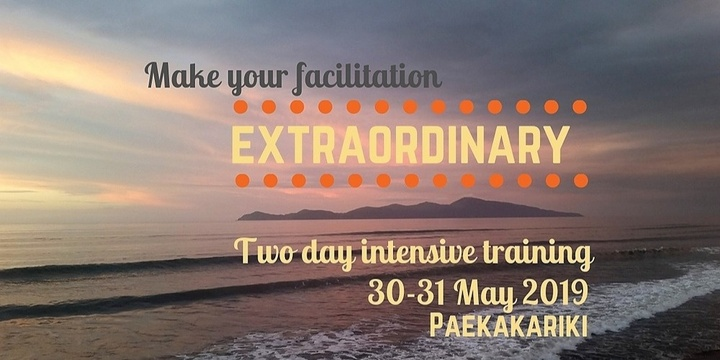 Extraordinary Facilitation - two days at the beach Event Banner