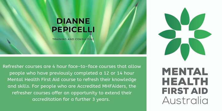 Refresher Standard MHFA North Adelaide Event Banner
