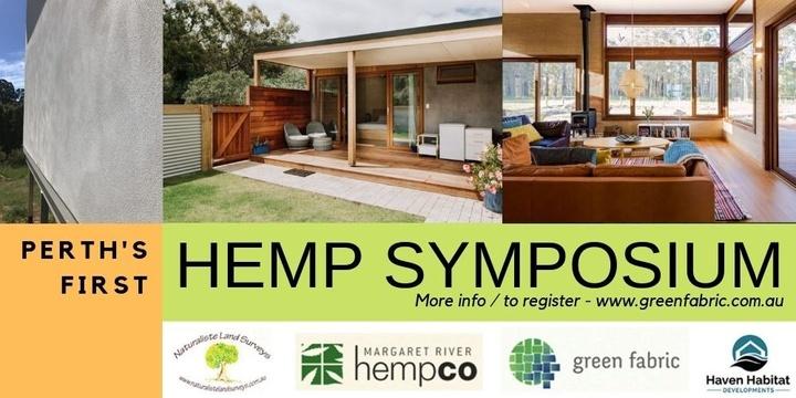 Hemp Building Symposium Event Banner