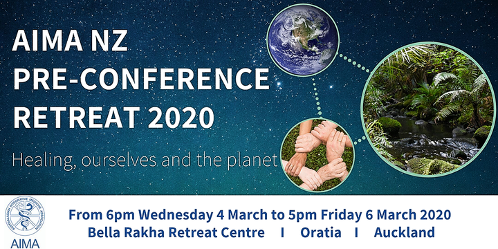 AIMA NZ Pre-Conference Retreat 2020 Event Banner