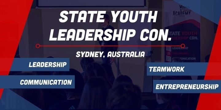 Sydney Youth Leadership Conference 2020 Event Banner
