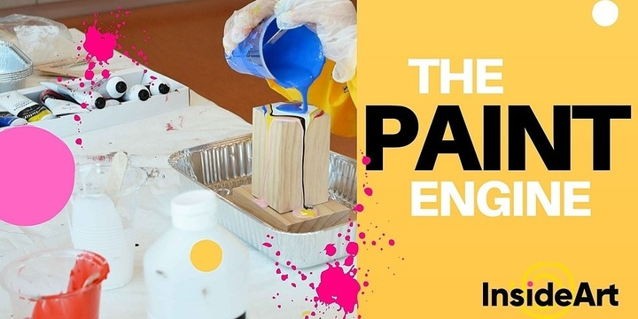The Paint Engine : Inside Art Space @ North Perth Common Event Banner