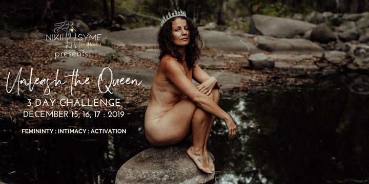 UNLEASH THE QUEEN - 3 Day FREE Challenge + $3000 in PRIZES Event Banner