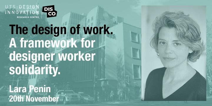 The design of work. A framework for designer worker solidarity Event Banner