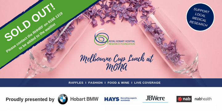 2019 RHHRF Melbourne Cup Lunch presented by Hobart BMW Event Banner