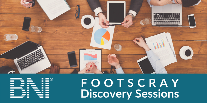 BNI Footscray Discovery Sessions Event Banner