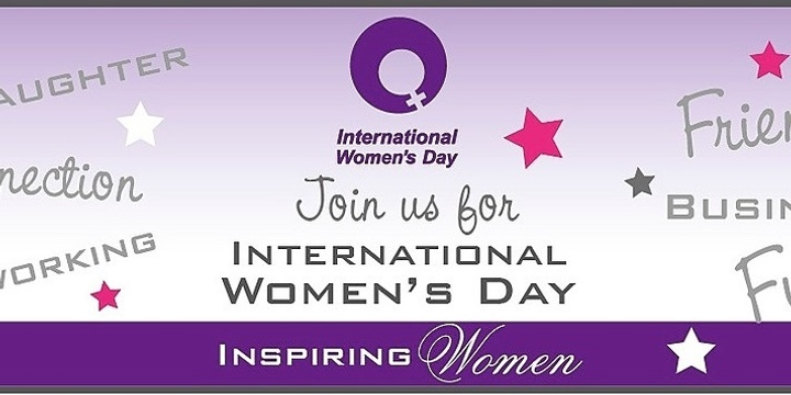 IWD Casual Dinner & Drinks Event Banner
