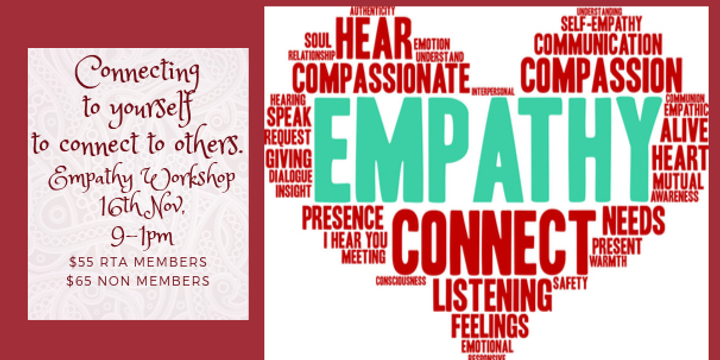 Empathy Workshop at Bayside Red Tent Event Banner