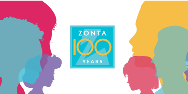 Celebrating 100 Years of Zonta Event Banner