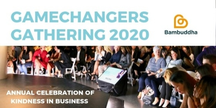 Game Changers Gathering 2020 Event Banner