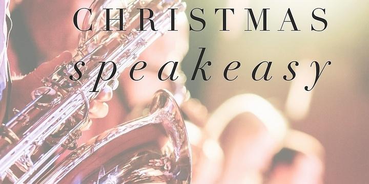 Christmas Speakeasy Event Banner