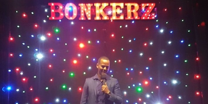 BonkerZ (Drink Included) Featured Artist Comedy Clubs Event Banner