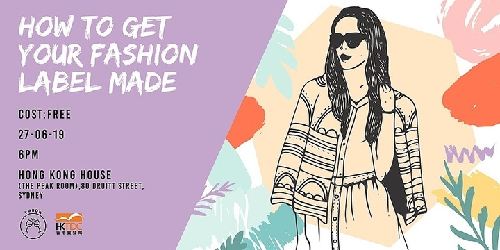LMBDW Sydney x HKTDC | How to get your Fashion Label Made Event Banner