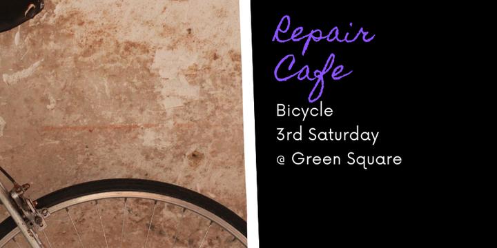 Zetland Repair Cafe - Bike Event Banner