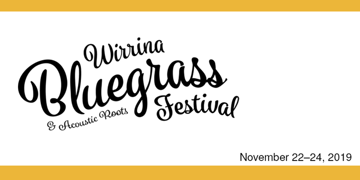 Wirrina Bluegrass & Acoustic Roots Festival, 2019 Event Banner