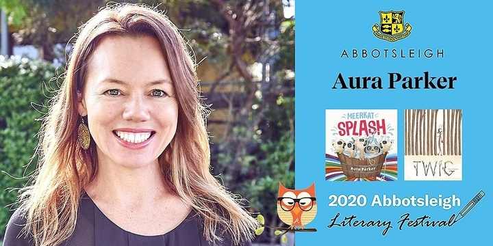 12.20pm Session - Aura Parker at the Abbotsleigh Literary Festival 2020 Event Banner