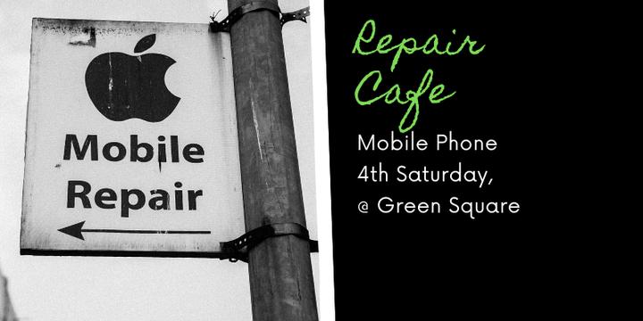 Zetland Repair Cafe - Phone Event Banner