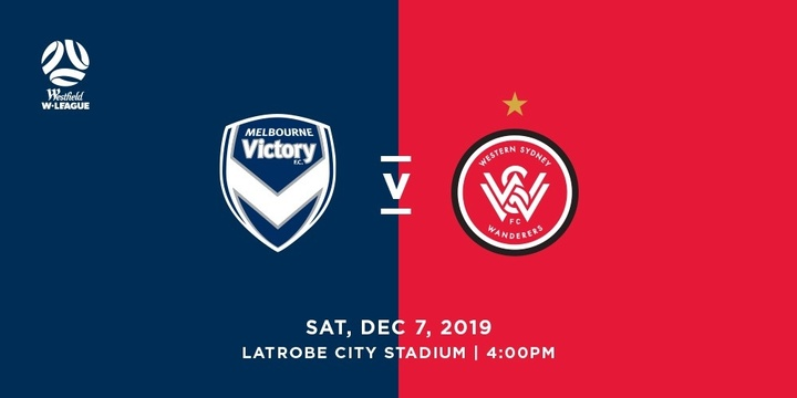 Westfield W-League: Melbourne Victory vs Western Sydney Wanderers Event Banner