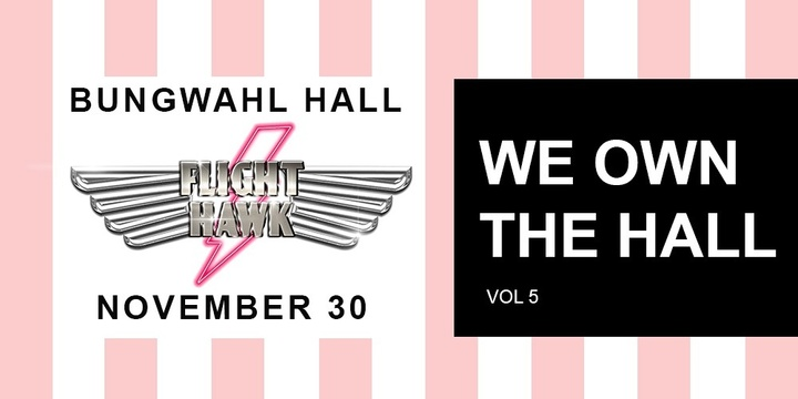 WE OWN THE HALL VOL. 5 Event Banner