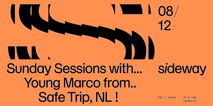 Sunday Sessions w/ Young Marco Event Banner