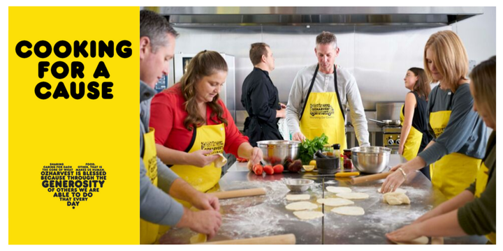 Cooking For a Cause - Melbourne Event Banner