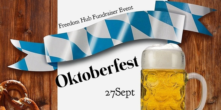 Oktoberfest at the Freedom Hub Event Banner