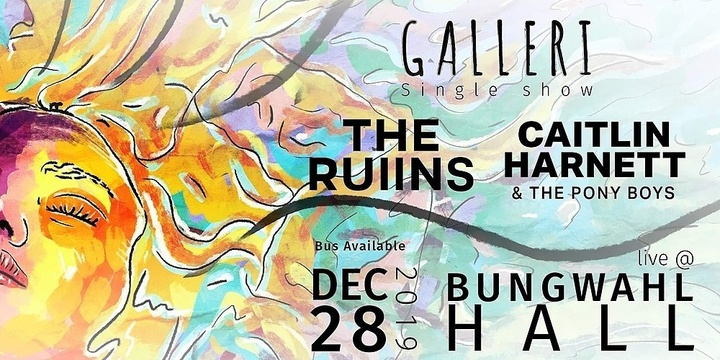 Galleri, The Ruiins & Caitlin Harnett and the Pony boys -BungRocks Party at the Bungwahl Hall Event Banner